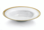 MICHAEL ARAM GOLDSMITH RIMMED BOWL