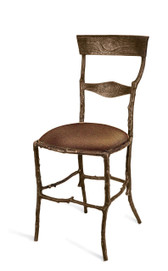 MICHAEL ARAM ENCHANTED FOREST CHAIR OXIDIZED