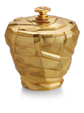 MICHAEL ARAM ROCK ICE BUCKET GOLD
