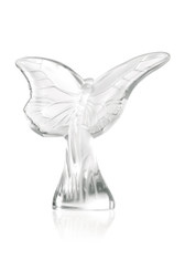 LALIQUE BUTTERFLY SCULPTURE