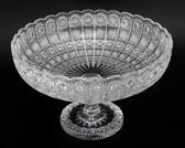 BOHEMIA CRYSTAL FOOTED BOWL-2