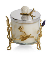 MICHAEL ARAM ENCHANTED GARDEN CANDLE WITH HOLDER