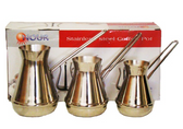 NOUR COFFEE POT STYLE 2 JAZVA SET OF 3