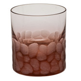 MOSER PEBBLES DOUBLE OLD FASHIONED 8OZ ROSALIN
