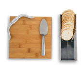 ARTHUR COURT LONGHORN BAMBOO CHEESE SET