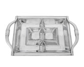 ARTHUR COURT LONGHORN ENTERTAINMENT TRAY