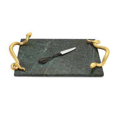 Rainforest Cheese Board w/Knife