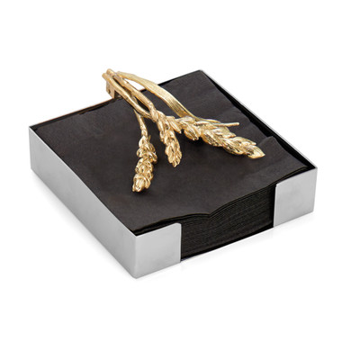 Wheat Cocktail Napkin Holder