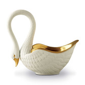 L'OBJET SWAN BOWL LARGE WHITE