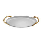 Michael Aram Wheat Oval Serving Platter