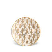 L'OBJET FORTUNY PIUMETTE CANAPE PLATE SET OF 4