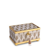 L'OBJET FORTUNY PIUMETTE DECORATIVE BOX SMALL