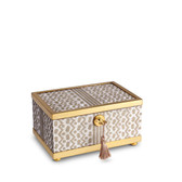 L'OBJET FORTUNY TAPA DECORATIVE BOX SMALL