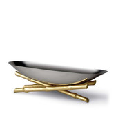 L'OGJET BAMBOU SERVING BOAT LARGE
