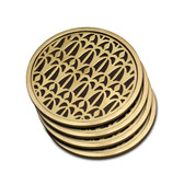 L'OBJET FORTUNY VENISE COASTERS SET OF 4