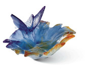 DAUM PAPILLON ORNAMENTAL DISH