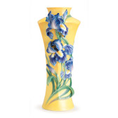 FRANZ MESSENGER OF LOVE IRIS FLOWER LARGE VASE