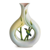 FRANZ BAMBOO SONG BIRD VASE