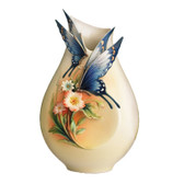 FRANZ FLUTTERING BEAUTY SMALL VASE