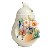FRANZ FLUTTERING BEAUTY SUGAR JAR