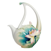 FRANZ PEACEFUL LOTUS TEAPOT