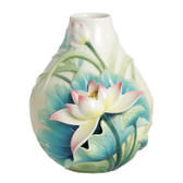 FRANZ PEACEFUL LOTUS SMALL VASE