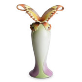 FRANZ PAPILLON BUTTERFLY SPREAD WINGS VASE