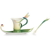 FRANZ PEACE & HARMONY BAMBOO CUP/SAUCER