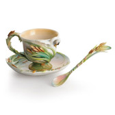 FRANZ SWAN LAKE CUP/SAUCER SET