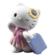 NAO TRAVELING HELLO KITTY FIGURINE