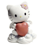 NAO FROM THE HEART HELLO KITTY FIGURINE