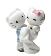 NAO HELLO KITTY GETS MARRIED FIGURINE