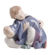 NAO DREAMS WITH EEYORE DISNEY FIGURINE
