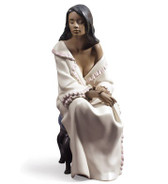 NAO MORNING REPOSE GRES FIGURINE