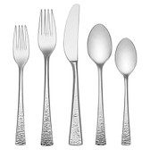 LENOX GORHAM BISCAYNE 75PC FLATWARE SET