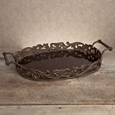 GG ACANTHUS LEAF OVAL TRAY