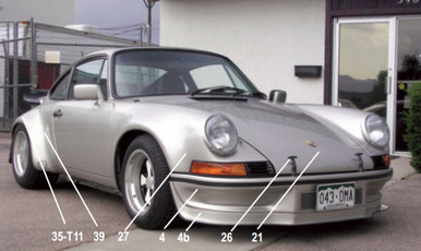 911 parts 1973 rsr style kit sciox Choice Image