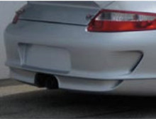 997 GT3 Cup Rear Bumper (2008 Style) with side vents and Center Exhaust Part# 817
