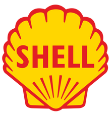 "10"" Shell  racing decal"