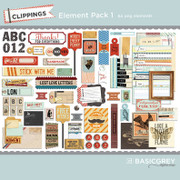 Clippings Element Pack 1