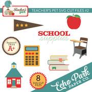 Teacher's Pet SVG Cut Files #2
