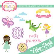 Perfect Princess SVG Cut Files #2