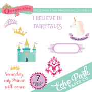 Once Upon A Time Princess SVG Cut Files #2