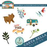 The Great Outdoors SVG Cut Files #1