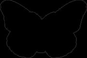 Butterfly #12 SVG Cut File