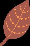 Fall Leaf SVG Cut File