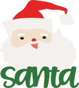 Santa #4 SVG Cut File