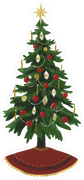 Christmas Tree #2 SVG Cut File