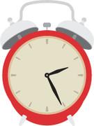 Alarm Clock SVG Cut File