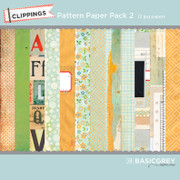 Clippings Pattern Paper Pack 2